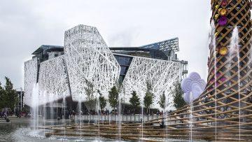 Expo 2015, un cemento biodinamico per Palazzo Italia
