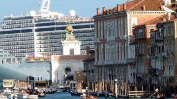 L'inquinamento 'navale' a Venezia sta diminuendo