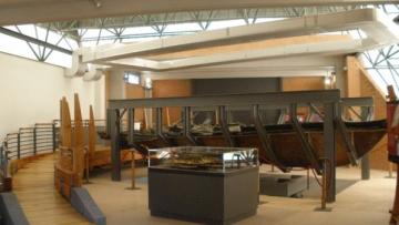 Il restauro scientifico della Barca romana di Ercolano