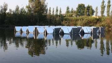 Il fotovoltaico diventa galleggiante