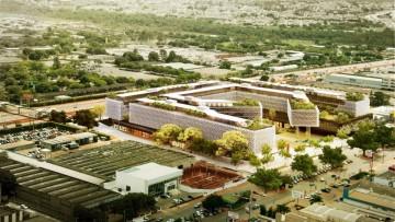 Complesso per uffici a Brasilia