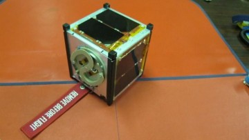 Il minisatellite torinese nello spazio