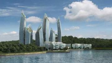 Daniel Libeskind firma il nuovo skyline di Keppel Bay