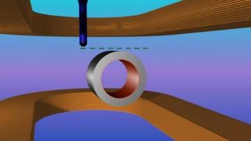 Il mantello che rende gli oggetti invisibili ai campi magnetici