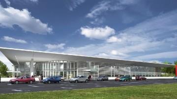 Richard Meier firma il nuovo centro per l'innovazione nelle costruzioni