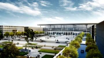 Il nuovo aeroporto di Berlino e' vicino al taglio del nastro
