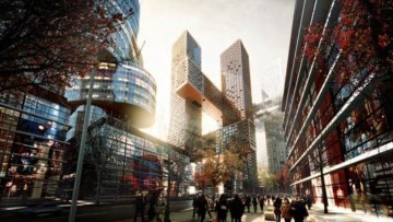 Big Architects firma il progetto delle Cross Towers di Seoul