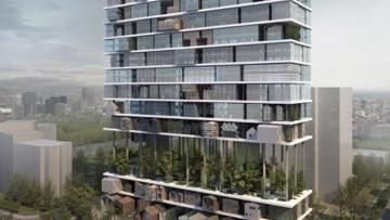 """Studio 3Gatti firma il progetto dello """"Shelf Hotel"""" di Xian"""
