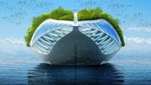 Physalia: il  giardino galleggiante che pulisce i fiumi del mondo