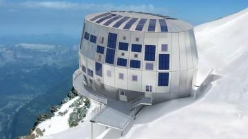 """Il rifugio """"low carbon"""" sul Monte Bianco"""