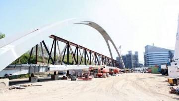 Arup porta a Milano una nuova passerella ciclopedonale