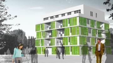 Da Arup micro-alghe per facciate verdi