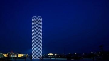 La torre cinese che dialoga col vuoto