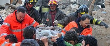 Terremoto in Abruzzo: i primi rilevamenti