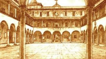 Gli ingegneri di Pisa al lavoro sul Palazzo della Sapienza