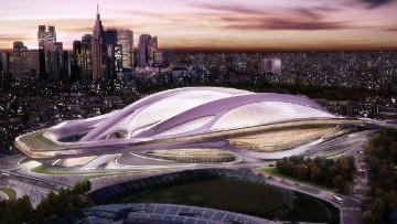 Zaha Hadid scelta dal Giappone per il National Stadium