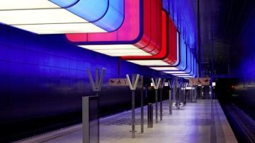 Le luci industriali di Pfarre' per la metropolitana di Amburgo