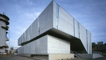 Spiralab, il laboratorio chimico a spirale di Kino Architects