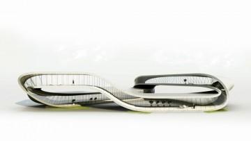 Landscape House, la visionaria casa stampata in 3d
