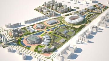 Il Complesso olimpico di Ashgabat firmato da Arup