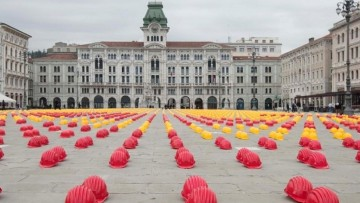 Crisi dell'edilizia: 12.000 caschetti gialli (e rossi) a Trieste