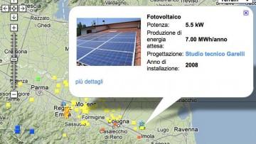 """Con Repowermap si puo' """"navigare"""" tra le rinnovabili italiane"""