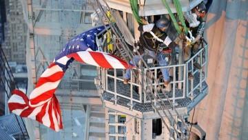 Posata la spira del One World Trade Center