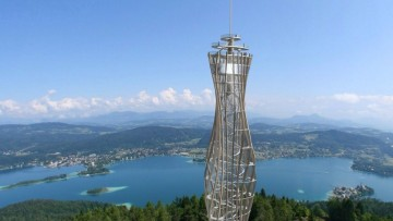 Pyramidenkogel, nuova torre panoramica in Carinzia