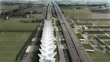La stazione di Reggio Emilia Mediopadana e' operativa