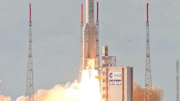 Alphasat, lanciato con successo il satellite anche un po' italiano