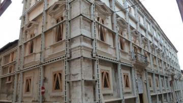 L'Aquila, la ricostruzione degli edifici vincolati procede a ritmo spedito