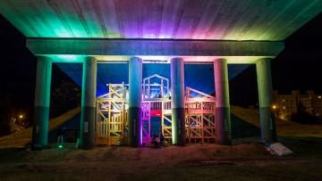 Il 'social restyling' per un ponte stradale