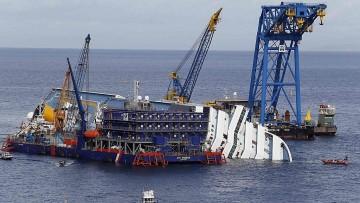 Costa Concordia: a settembre partiranno le operazioni di rotazione