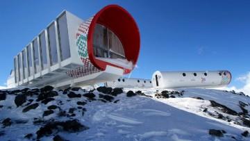 L'eco-hotel prefabbricato a 4.000 metri di altezza