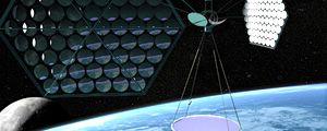 Energia solare dallo spazio