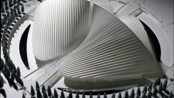 Santiago Calatrava, 140 opere ai Musei Vaticani