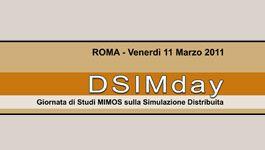 DSIMday – Giornata di studio sulla Simulazione Distribuita
