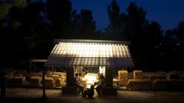 Un rifugio temporaneo per la Valle dei Templi