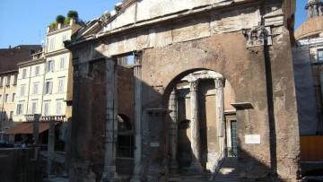 Portico d'Ottavia a Roma: scavo archeologico e restauro