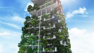 Un giardino verticale di 46 piani, le Clearpoint Residences