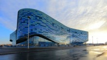 Gli impianti per Sochi 2014: l'Iceberg Skating Palace