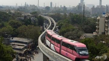 La monorotaia di Mumbai e' entrata in funzione