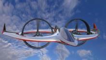 L'aereo-elicottero elettrico che vola e si immerge (e piace a 007)