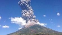 I tecnici italiani per il monitoraggio del vulcano Chaparrastique