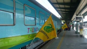 Parte il Treno Verde Legambiente 2014, il convoglio per misurare l'inquinamento