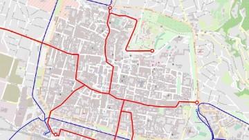 Analisi e progetto delle reti urbane di trasporto, linee guida del Cni