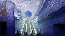 Metropolitane, la stazione Toledo a Napoli e' la piu' bella d'Europa
