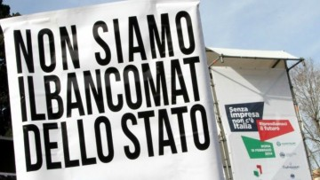 """La 'marcia su Roma' delle partite Iva: """"Senza impresa non c'e' Italia"""""""