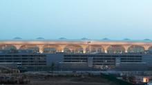 Un tetto a piume di pavone per il nuovo terminal dell'aeroporto di Mumbai