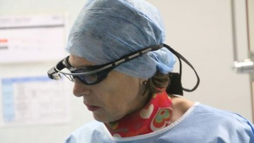 I Google Glass arrivano in sala operatoria